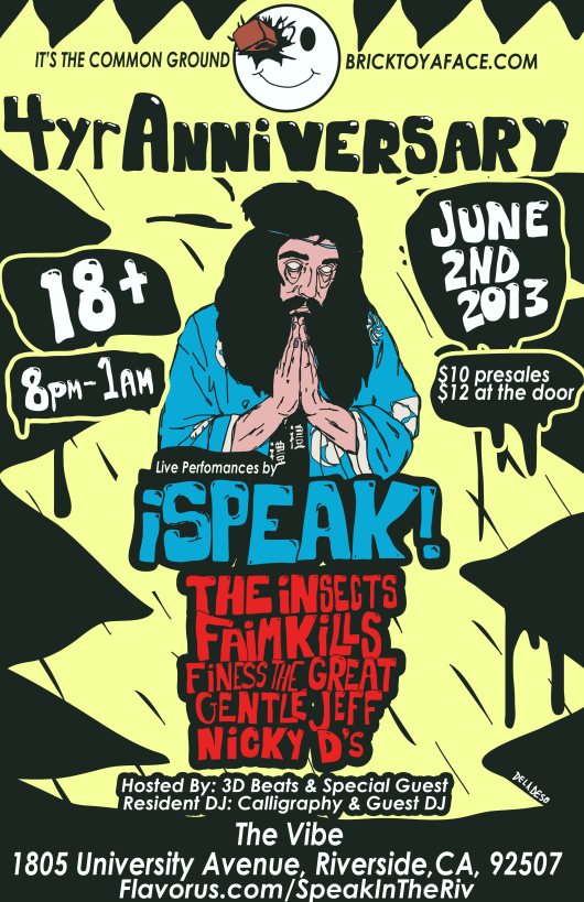 SPEAK 4yr flyer